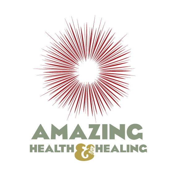 Amazing Health and healing logo